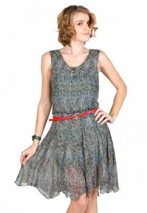 Платье Artwizard. Цвет: разноцветный