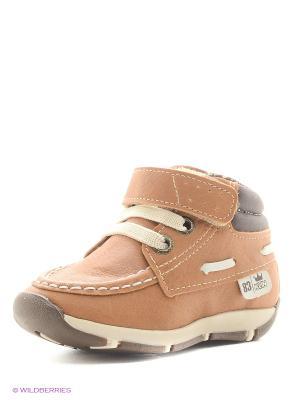Ботинки Klin. Цвет: светло-коричневый