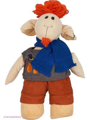Мягкая игрушка Fluffy Family. Цвет: кремовый, коричневый