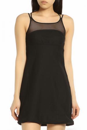 Вечернее платье классического стиля ERMANNO BY SCERVINO. Цвет: 900 black