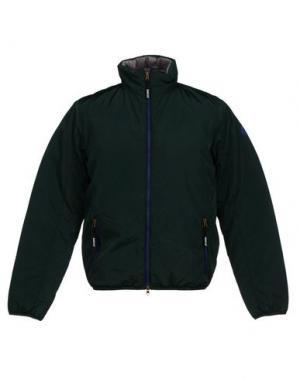 Куртка SPARCO. Цвет: зеленый