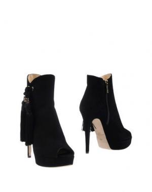 Полусапоги и высокие ботинки ELISABETTA FRANCHI. Цвет: черный