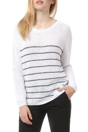 Пуловер American Vintage. Цвет: белый