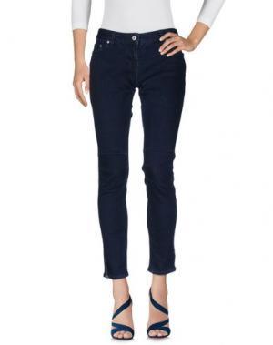 Джинсовые брюки C.R.A.F.T.. Цвет: синий