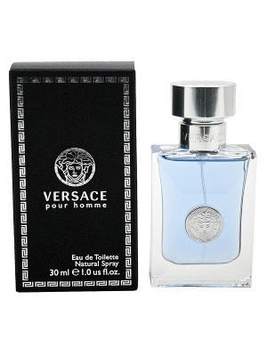Versace pour homme edt 30 ml. Цвет: голубой