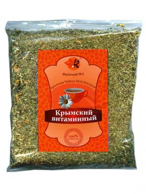 Фиточай. Номер 1. Крымский витаминный. Крымская Натуральная Коллекция. Цвет: зеленый