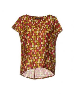 Блузка LAURA URBINATI. Цвет: хаки