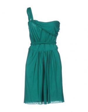 Короткое платье GOLD CASE SOGNO. Цвет: зеленый