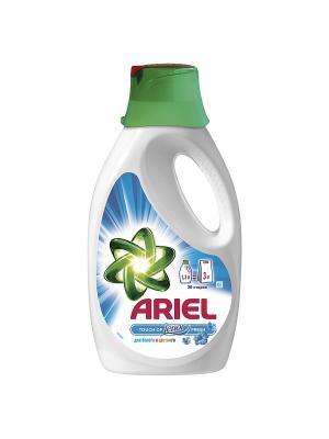 Гель для стирки Touch of Lenor fresh белого и цветного, 1.3л Ariel. Цвет: белый, зеленый