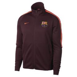 Мужская куртка FC Barcelona Authentic N98 Nike. Цвет: пурпурный