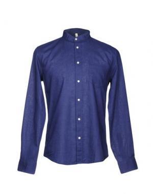 Pубашка RANSOM. Цвет: темно-синий