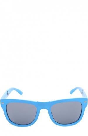Очки с футляром Dolce & Gabbana. Цвет: светло-голубой