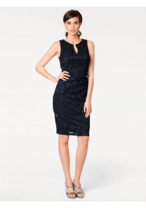 Платье ASHLEY BROOKE by Heine. Цвет: темно-синий