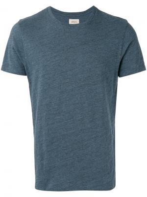 Crew neck T-shirt Bellerose. Цвет: синий