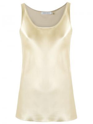 Sleeveless blouse Gloria Coelho. Цвет: металлический