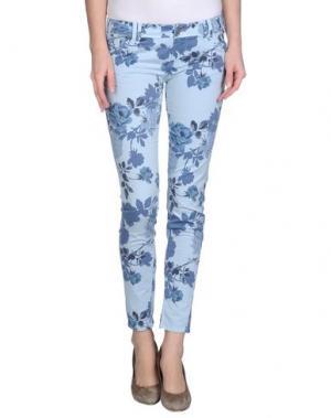 Повседневные брюки JCOLOR. Цвет: небесно-голубой