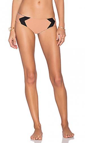Низ бикини Acacia Swimwear. Цвет: коричневый
