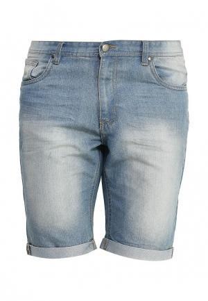 Шорты джинсовые Baon. Цвет: голубой