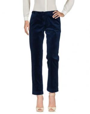 Повседневные брюки MASSIMO ALBA. Цвет: грифельно-синий