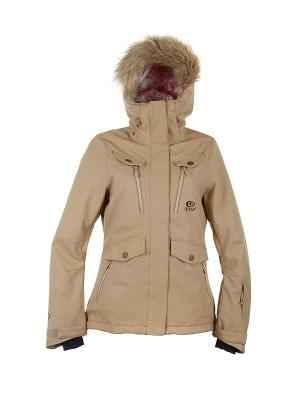Куртка  CHIC FANCY JKT Rip Curl. Цвет: светло-серый, бежевый