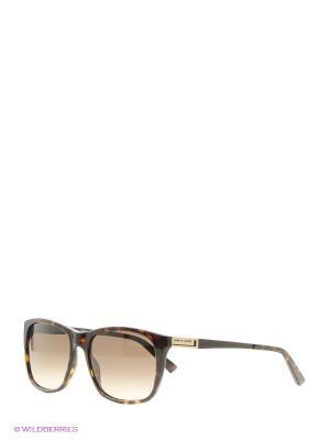 Солнцезащитные очки Pierre Cardin. Цвет: черный, коричневый