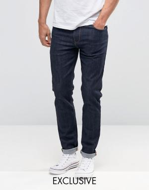 Noak Синие джинсы скинни. Цвет: синий