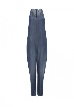 Комбинезон джинсовый Imperial. Цвет: синий