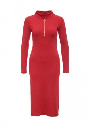 Платье Oeuvre. Цвет: красный
