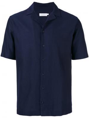 Shortsleeved shirt Sunspel. Цвет: синий