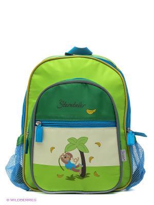 Рюкзак детский Sterntaler. Цвет: зеленый