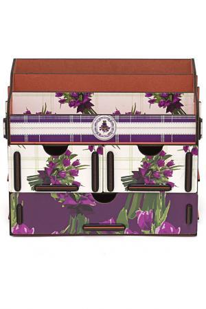 Органайзер для косметики HOMSU. Цвет: фиолетовый