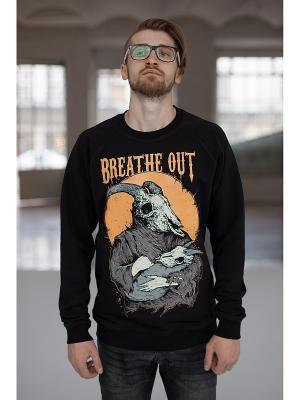 Свитер BREATHE OUT - Goat. Цвет: черный