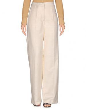 Повседневные брюки KATIA G.. Цвет: слоновая кость