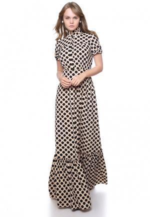 Платье Marichuell. Цвет: бежевый