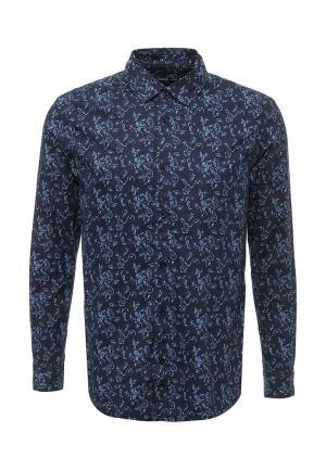 Рубашка Modis. Цвет: синий