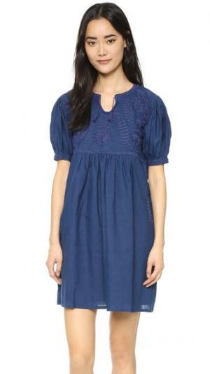 Короткое платье Margarita Carolina K. Цвет: голубой