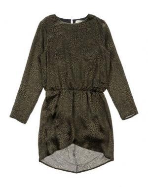 Платье LE PETIT COCO. Цвет: зеленый-милитари