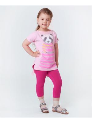 Комплект одежды VATAGA. Цвет: розовый, фуксия