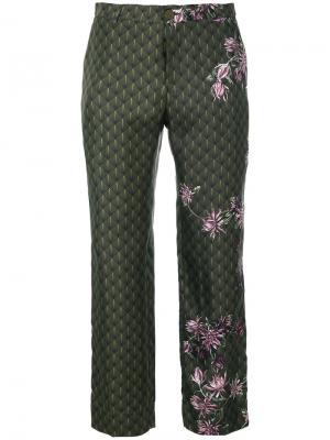 Пижамные брюки F.R.S For Restless Sleepers. Цвет: зелёный