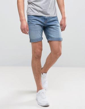 Produkt Джинсовые шорты. Цвет: синий