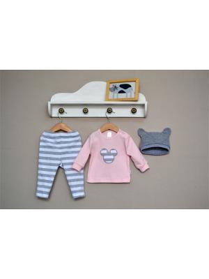Комплект одежды Baby Boom. Цвет: розовый