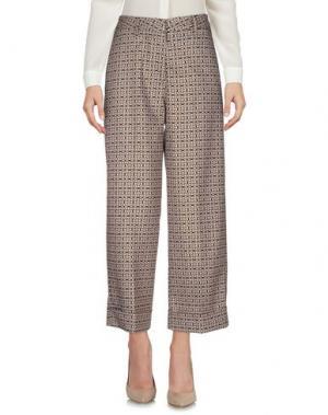 Повседневные брюки SHAFT. Цвет: песочный