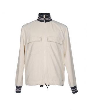 Куртка WOOD. Цвет: слоновая кость