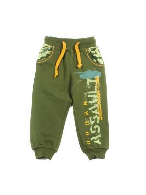 Спортивные брюки PEPELINO. Цвет: зеленый, хаки