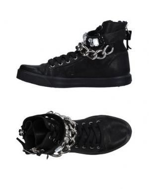 Высокие кеды и кроссовки OM. Цвет: черный