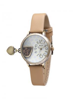 Наручные часы MN2054brown Mini.. Цвет: серо-коричневый, темно-бежевый