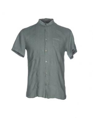 Pубашка DAVID NAMAN. Цвет: зеленый-милитари
