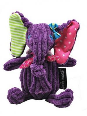 Игрушка Deglingos Слоненок Sandykilos - Simply 15cm. Цвет: фиолетовый