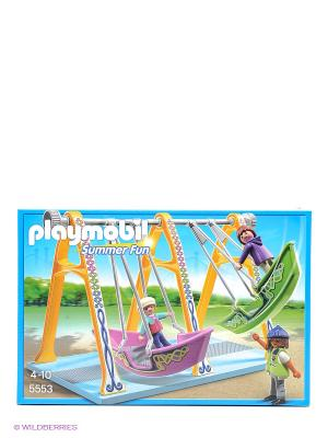 ПаркрРазвлечений Аттракцион Лодка Playmobil. Цвет: голубой