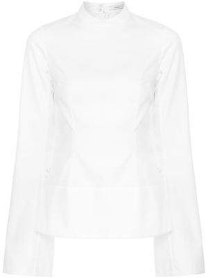 Платье Nolla Erdem. Цвет: белый
